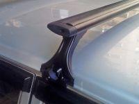 Багажник на крышу на ВАЗ 2108-21099, Delta, аэродинамические (крыловидные) дуги, черный цвет