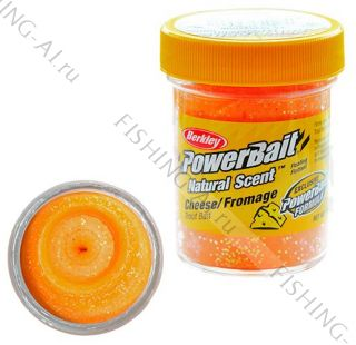 Форелевая паста Berkley Power Bait Cheese Fromage Orange Сыр