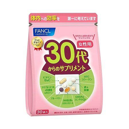 FANCL Комплекс витаминов для женщин от 30 до 40 лет