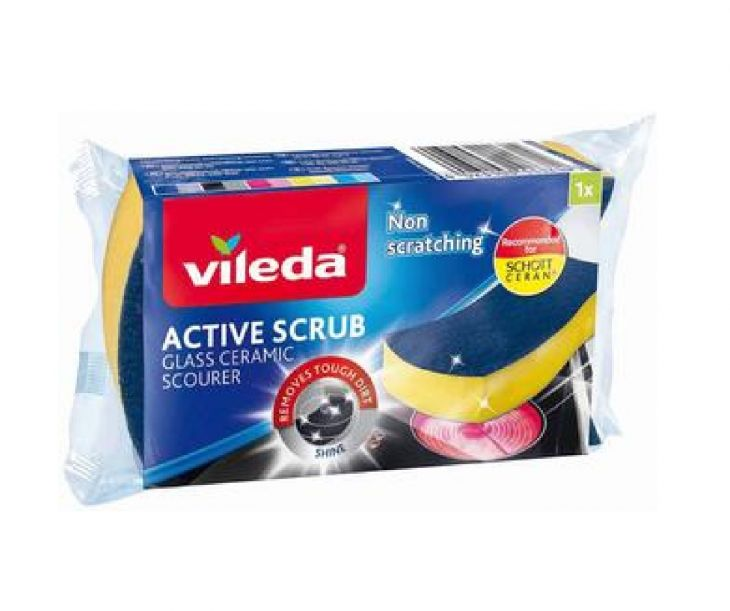 Vileda Active Scrub keraamisen Губка для керамических плит
