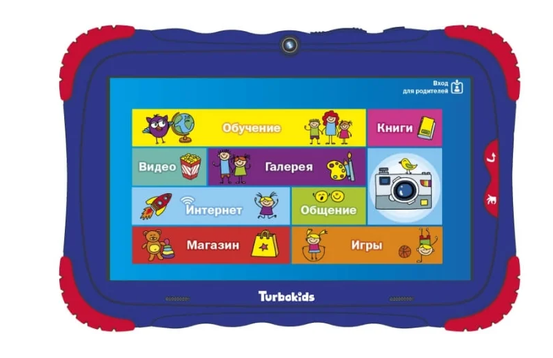 Планшет TurboKids S5 16Gb Синий