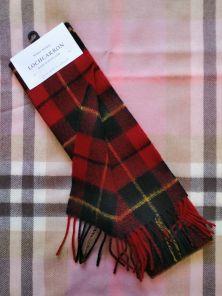 Шотландский шарф, тартан клана Уоллес (Храброе сердце) WALLACE MODERN TARTAN