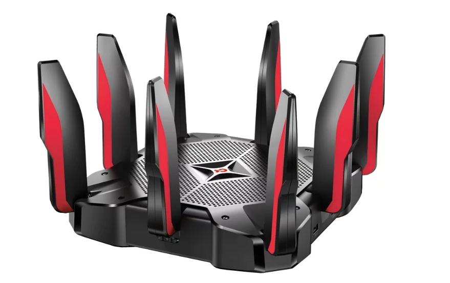 Wi-Fi роутер TP-LINK Archer C5400X Черный