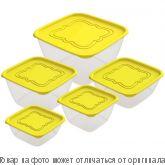 """Набор контейнеров для продуктов """"Пикник"""" №3 (СВЧ) 0,5л;0,7л;1,0л;1,5л;3,0л, шт"""