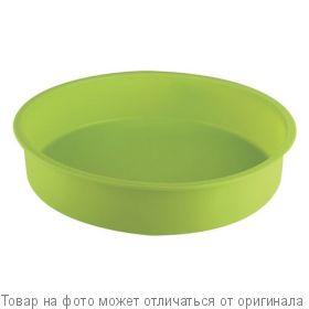 Форма силик. д/выпечки кругл. (зел) ATMIX, шт