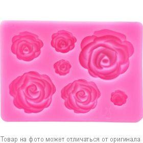 Форма силик. Цветочная (роз) ATMIX, шт