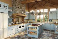 Кухня Villa (Вилла) голубая