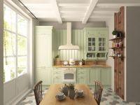 Кухня Villa (Вилла) фисташка