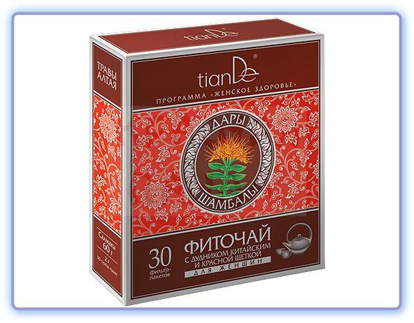 TianDe Фиточай с дудником китайским и красной щеткой для женщин