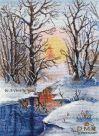 ОВЕН Зимний ручей (1334)