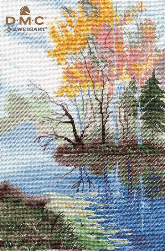 Набор для вышивания ОВЕН На озере (1322)