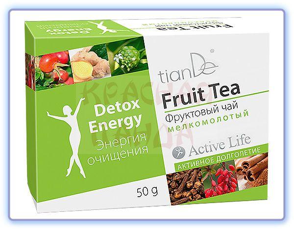 TianDe Фруктовый чай Энергия очищения