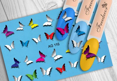 FREEDECOR Аэрография Слайдер дизайн Арт.AG-116 Животные, птицы