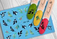 FREEDECOR Аэрография Слайдер дизайн Арт.AG-129 Цветы