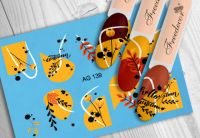 FREEDECOR Аэрография Слайдер дизайн Арт.AG-139 Цветы