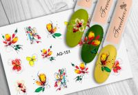 FREEDECOR Аэрография Слайдер дизайн Арт.AG-151 Цветы