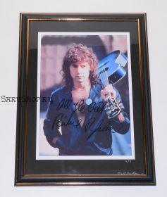 Автограф: Ричи Блэкмор. Deep Purple, Rainbow, Blackmore's Night. Редкость