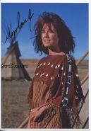 Автограф: Мэри МакДоннелл. Танцующий с волками