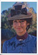 Автограф: Мэри Стинберген. Назад в будущее III
