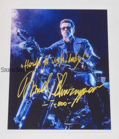 Автограф: Арнольд Шварценеггер. Терминатор 2: Судный день
