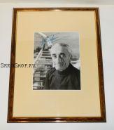 Автограф: Жак-Ив Кусто. ( Капитан Кусто ). Фото 1980 года. Редкость