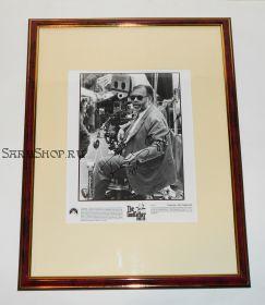 Автограф: Фрэнсис Форд Коппола. Крестный отец. Фото 1990 года. Редкость
