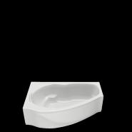 Акриловая ванна BAS Мартиника L/R 160х85 без гидромассажа