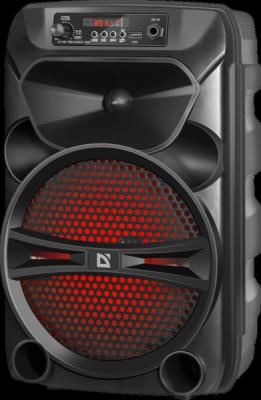 Портативная акустика G110 12Вт, Light/BT/FM/USB/LED/AUX