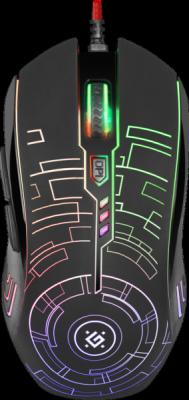 Распродажа!!! Проводная игровая мышь Core GM-330L черная, 3200dpi,мышь