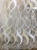 Тюль вышивка на сетке Турция 945