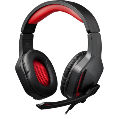 НОВИНКА. Игровая гарнитура Themis 2 красный + черный, кабель 2 м