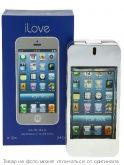 I LOVE FOR MEN BLUE (I PHONE) (синяя коробка).Туалетная вода 100мл (муж), шт
