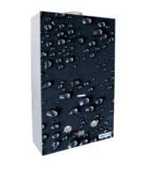 Проточный газовый водонагреватель VEKTOR 10 G Черные капли