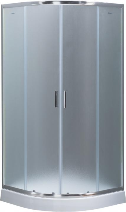Душевое ограждение Aquanet SE-800Q 80х80х185, стекло 4 мм, узор (239689)