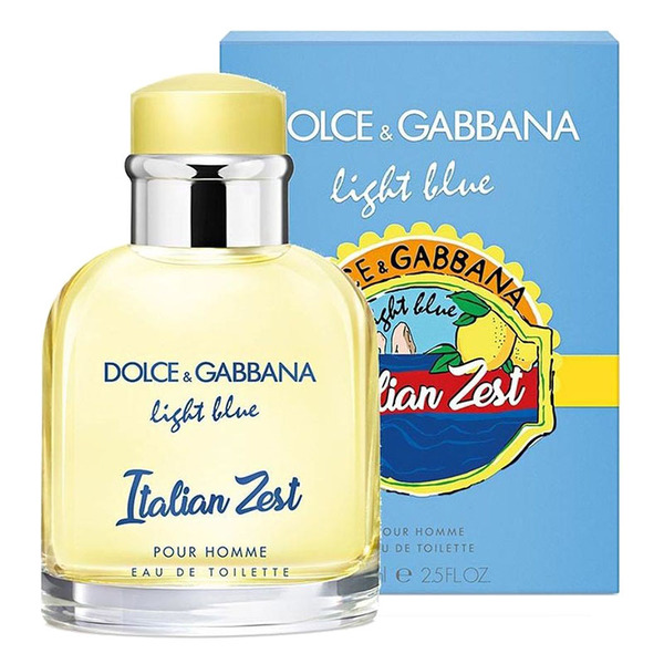 Dolce and Gabbana Light Blue Italian Zest Pour Homme 125 мл (EURO)