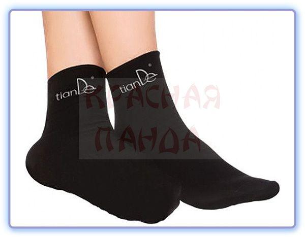 TianDe Хлопковые носки с точечным нанесением турмалина