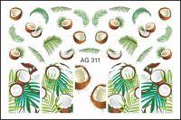 FREEDECOR Аэрография Слайдер дизайн Арт.AG-311 Фрукты, овощи, ягоды