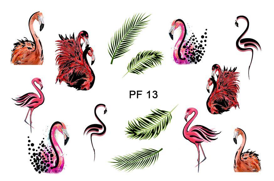 FREEDECOR Фольгированный слайдер дизайн мини с печатью Арт.Pf 13 Животные, птицы