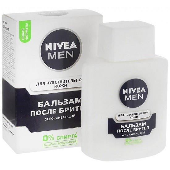 Nivea Men Успокаивающий для чувствительной кожи бальзам после бритья 100 мл