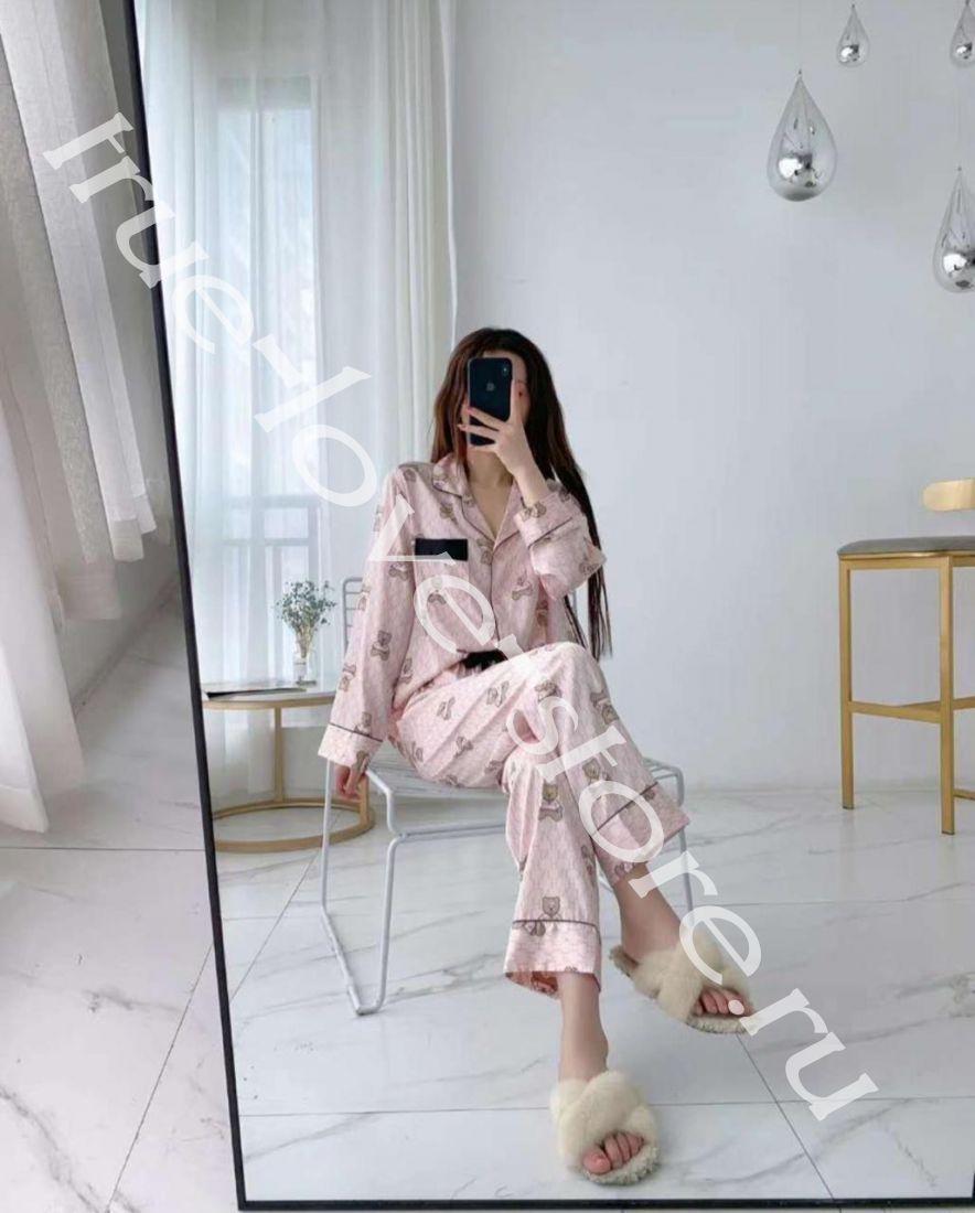 4017 -  цена за 2 шт пижама на размеры M,L