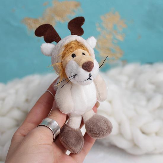 Игрушка для куклы -  Лев  NICI, 11 см