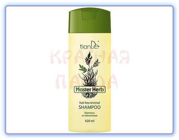 TianDe Шампунь для волос от облысения Master Herb