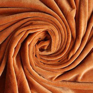 Мелковорсовый мех (ворс 1-2 мм) - цвет Карамель  50*40