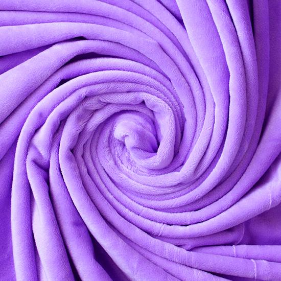 Мелковорсовый мех (ворс 1-2 мм) - цвет Сирень  50*40