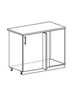Шкаф нижний угловой стыковочный Модена ШНУ 1000