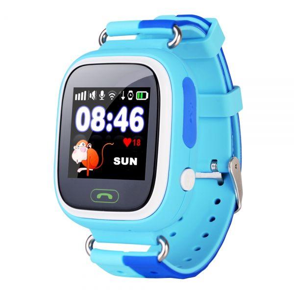 Smart часы детские с GPS GP-01 Синие (УЦЕНКА !!! ПОСЛЕ РЕМОНТА)