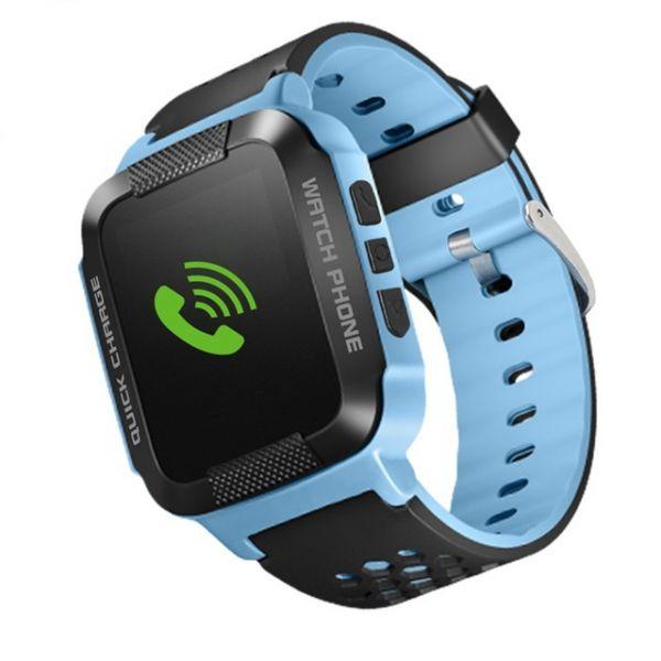 Часы детские с GPS GP-08 Синие (УЦЕНКА, ПОСЛЕ РЕМОНТА)