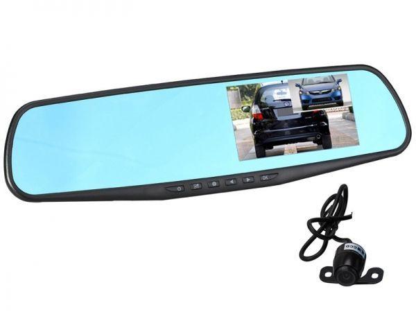 Автовидеорегистратор зеркало + камера TDS TS-CAR13  ( УЦЕНКА, ПОСЛЕ РЕМОНТА)