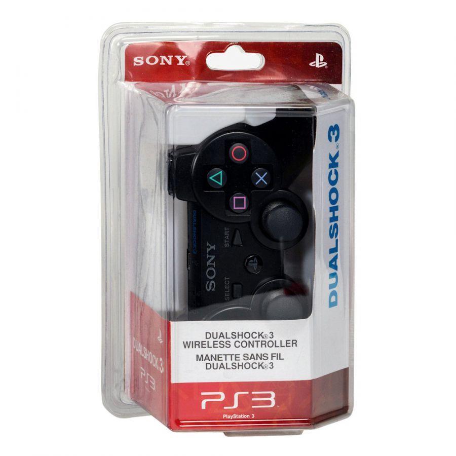 Геймпад PS3 б/п игровой PS-170 (черный) (УЦЕНКА, ПОСЛЕ РЕМОНТА)