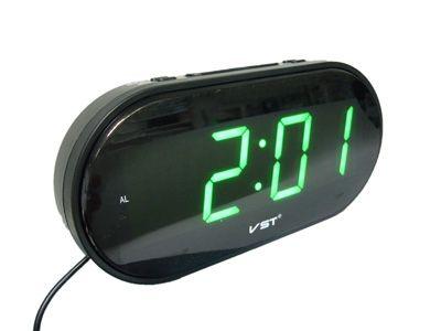 VST801-2 часы 220В зел.цифры (УЦЕНКА, Товар после ремонта)